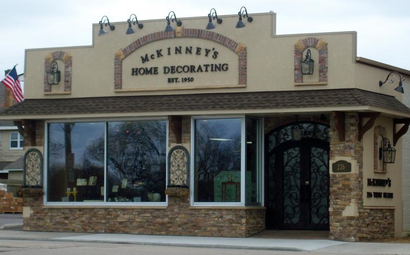 McKinneys Home Decorating Storefront